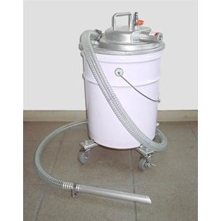APPQO400-FPC 粉塵吸込セット 3馬力 エア式 バキュームクリーナー 掃除機 自動停止機能/フィルター付き 吸入専用 オープンペール缶用