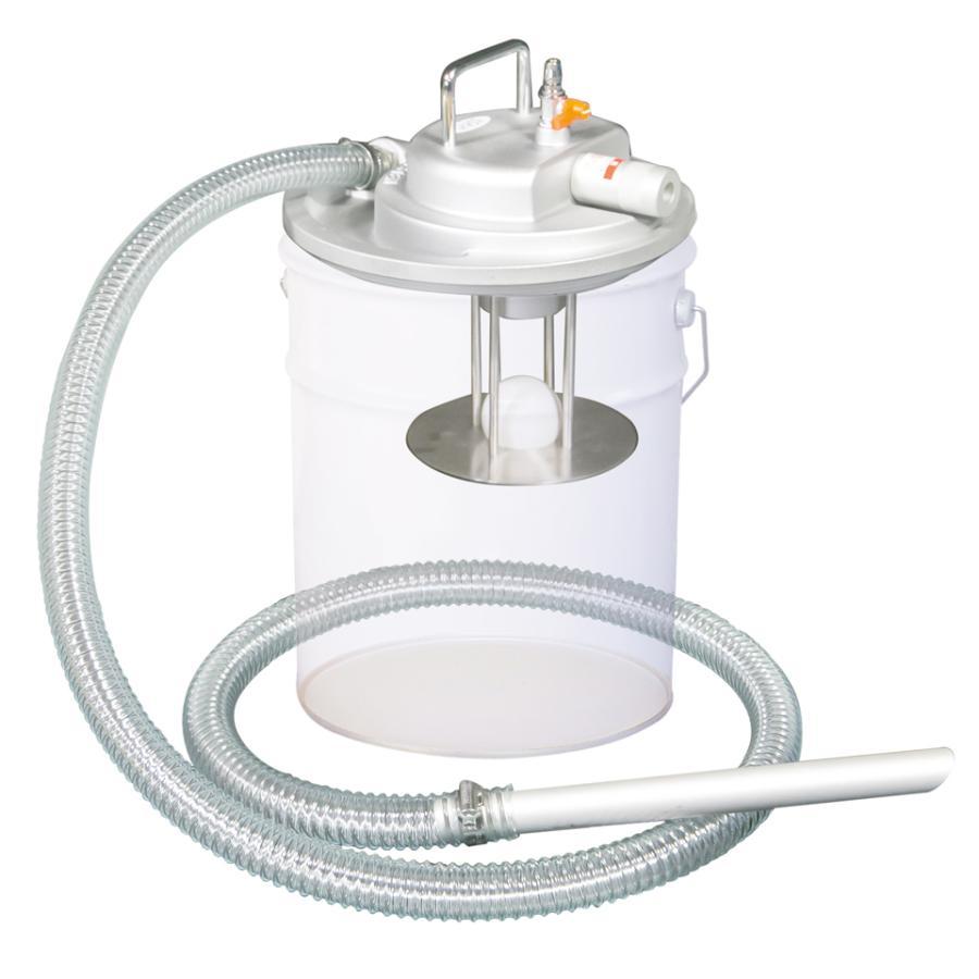 APPQO400 3馬力 乾湿両用 掃除機 エア式 バキュームクリーナー 自動停止機能付/フィルター無し 吸入専用 一般油