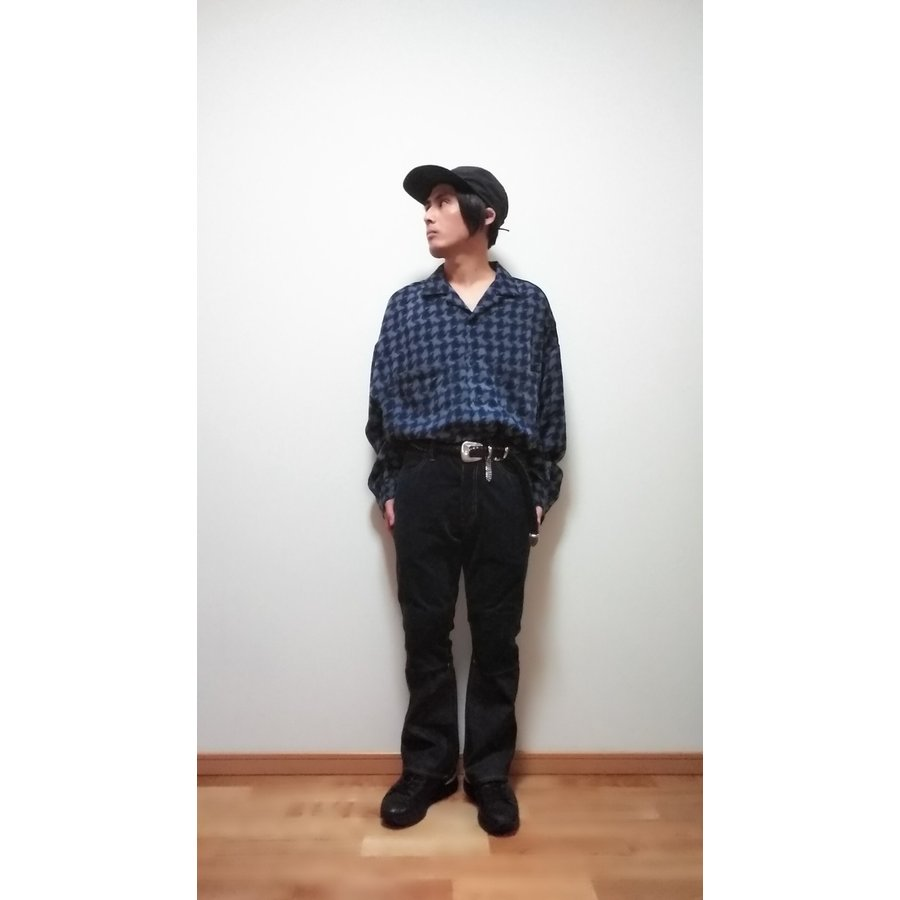 <SALE>30%OFF 定価¥24,200 JieDa SWITCHING 2WAY FLARE PANTS (IND) サイズ0 ジエダ デニム denim ジーンズ コーデュロイ|poompoom|09