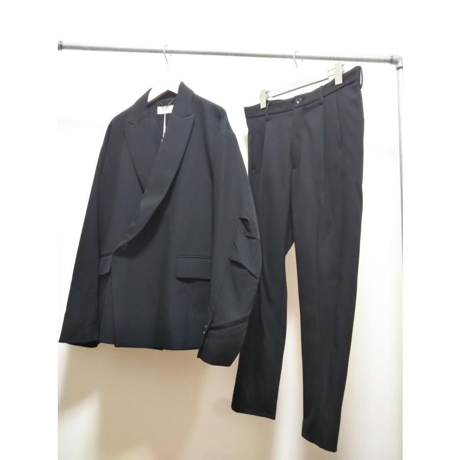 <SALE>30%OFF 定価\56,100 JieDa DOUBLE TAILORED JACKET(BLK) ジエダ ダブル テーラードジャケット ブラック|poompoom|07