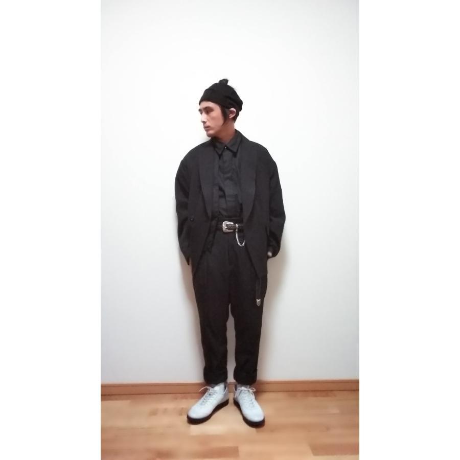 <SALE>30%OFF 定価\56,100 JieDa DOUBLE TAILORED JACKET(BLK) ジエダ ダブル テーラードジャケット ブラック|poompoom|08