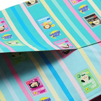 レッスンバッグ 大きめ 小学校 通学カバン 通学バッグ 絵本カバン ポケットつき かわいい 女の子 エメラルドグリーン ピンク ストライプ チェック pop-collection 05