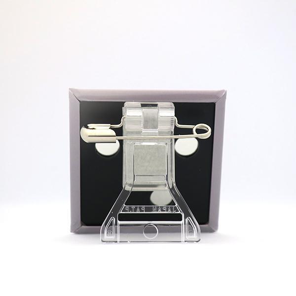 置物 かわいい 小さい スタンドクリップ付き スクエア 四角 黄色 キャラクター キイビヨ|pop-collection|07