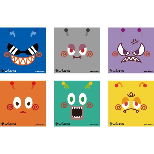 置物 かわいい 小さい 缶バッジ 缶バッチ 缶バッヂ スタンドクリップ付き スクエア 四角 グレー キャラクター マルビヨ|pop-collection|12