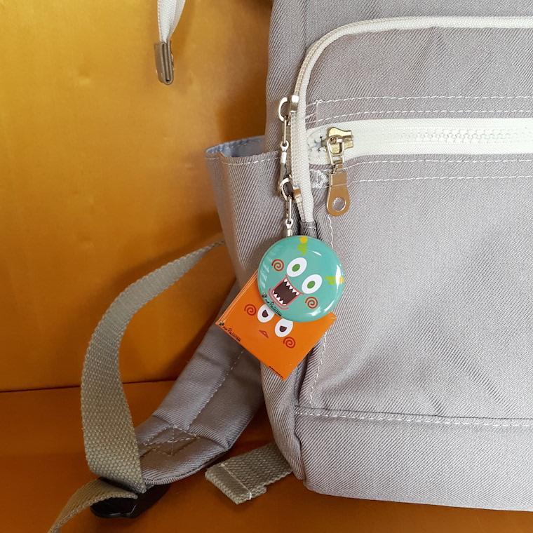 缶バッジ 缶バッチ 缶バッヂ キャラクター オリジナル シンプル 可愛い 緑色 丸型38ミリ ミドビヨ pop-collection 05
