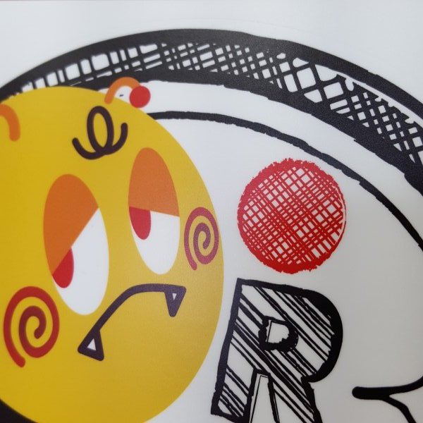 ドラレコステッカー 防犯カメラ 車 いたずら防止 おしゃれ キャラクター シンプル 丸型 アウトドア 防水 UV 丈夫 シール  キイビヨ|pop-collection|02