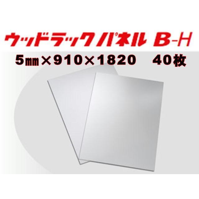 素板 B-H(10倍品)5mm×910×1820 40枚入