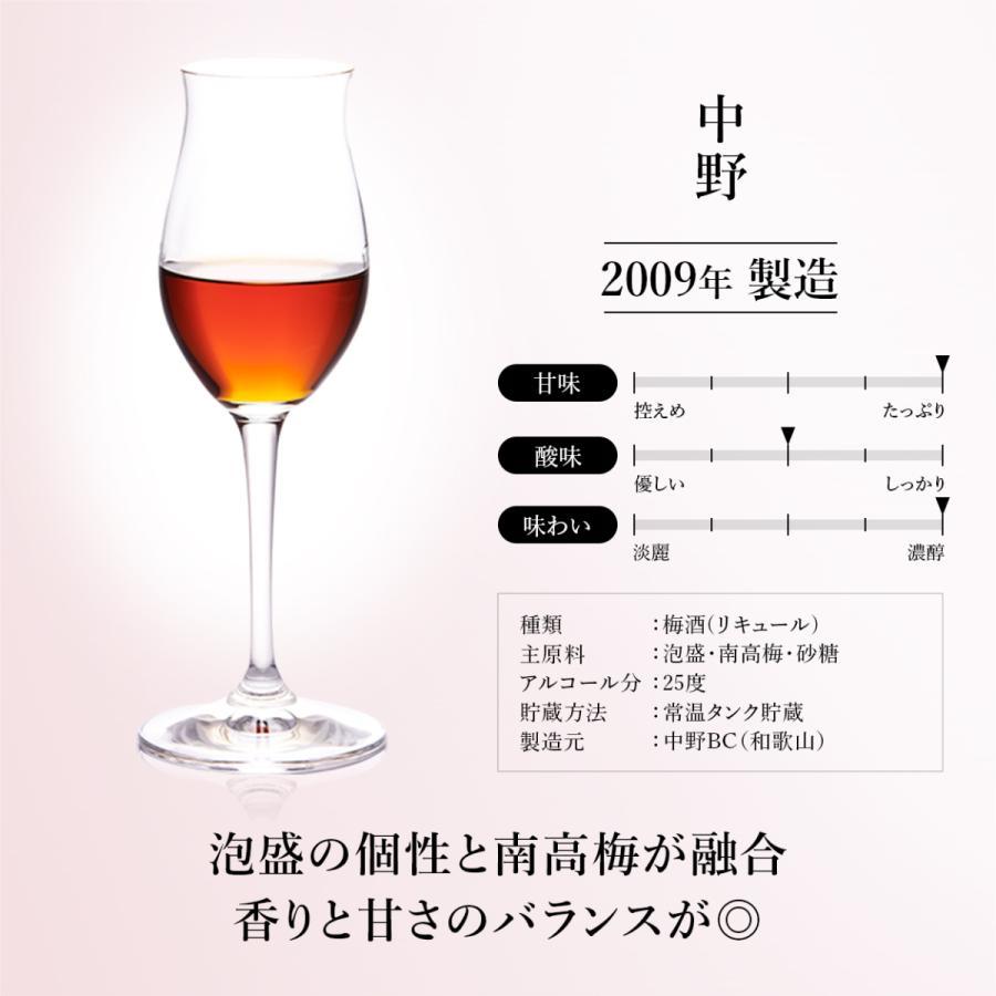 『うめ梅酒 壱』梅酒 3銘柄 飲み比べ セット 高級 ギフト 最長15年 長期熟成  Vintage2006,2008,2009【500限定】 贈答品 還暦  敬老の日 誕生日|poppingstand|13