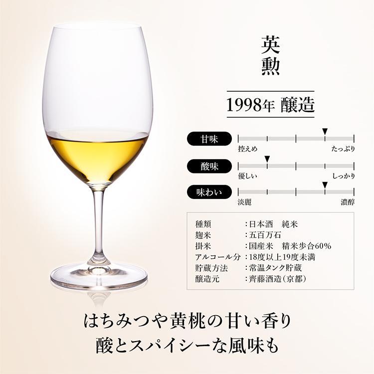 お中元 日本酒 高級 ギフト 最長38年 長期熟成 「古昔の純米」古昔の美酒 年代別 飲み比べ 5本 セット 夏ギフト 人気 プレゼント|poppingstand|11