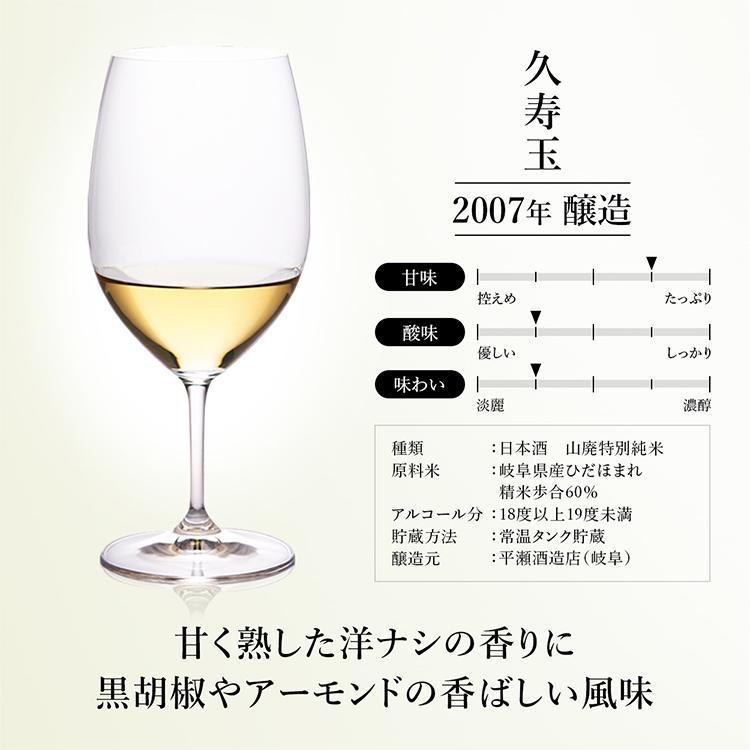 お中元 日本酒 高級 ギフト 最長38年 長期熟成 「古昔の純米」古昔の美酒 年代別 飲み比べ 5本 セット 夏ギフト 人気 プレゼント|poppingstand|13