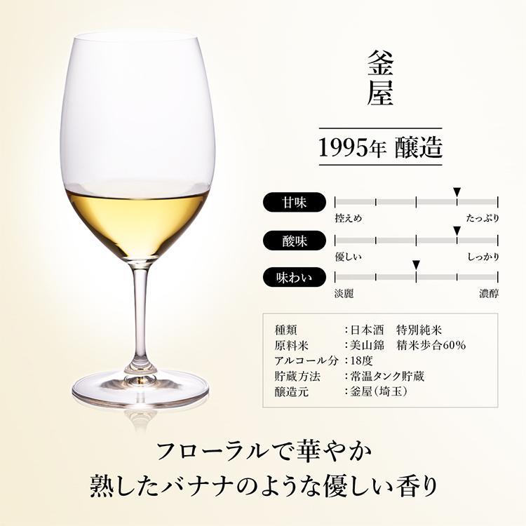 お中元 日本酒 高級 ギフト 最長38年 長期熟成 「古昔の純米」古昔の美酒 年代別 飲み比べ 5本 セット 夏ギフト 人気 プレゼント|poppingstand|10