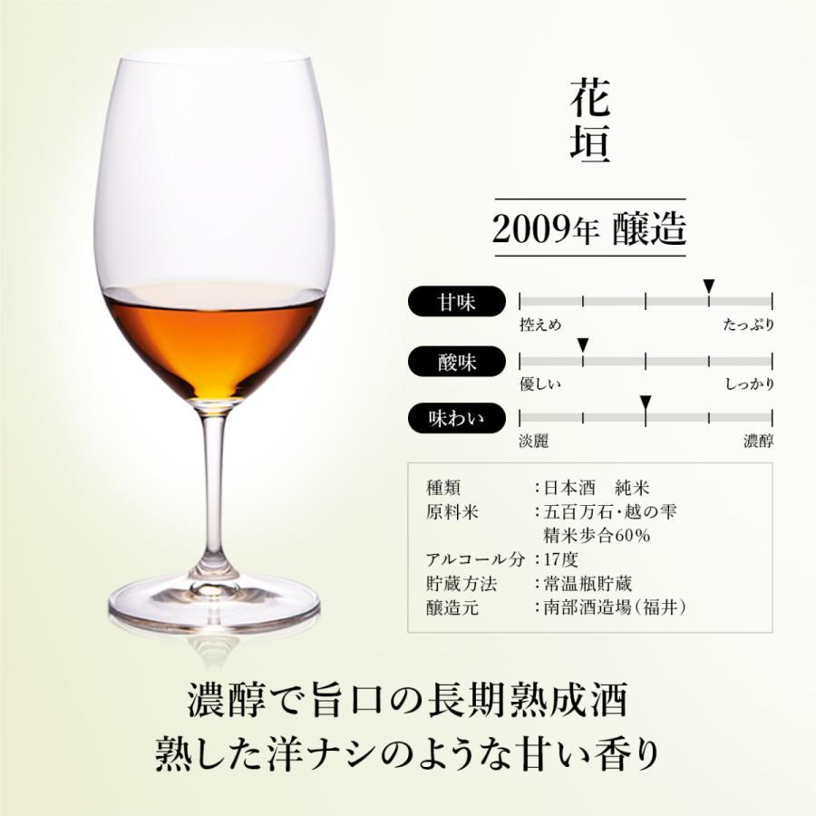『光』日本酒 7銘柄 飲み比べ セット 高級 ギフト 最長26年 長期熟成  Vintage1995〜2009【500限定】贈答品 還暦 誕生日 敬老の日 内祝 poppingstand 17