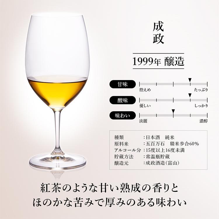 日本酒 高級 ギフト お中元 最長38年 長期熟成 「至高」古昔の美酒 年代別 飲み比べ 5本 セット|poppingstand|12