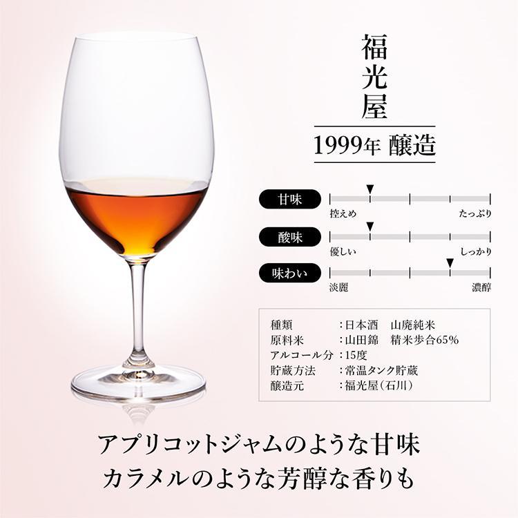 日本酒 高級 ギフト お中元 最長38年 長期熟成 「至高」古昔の美酒 年代別 飲み比べ 5本 セット|poppingstand|13