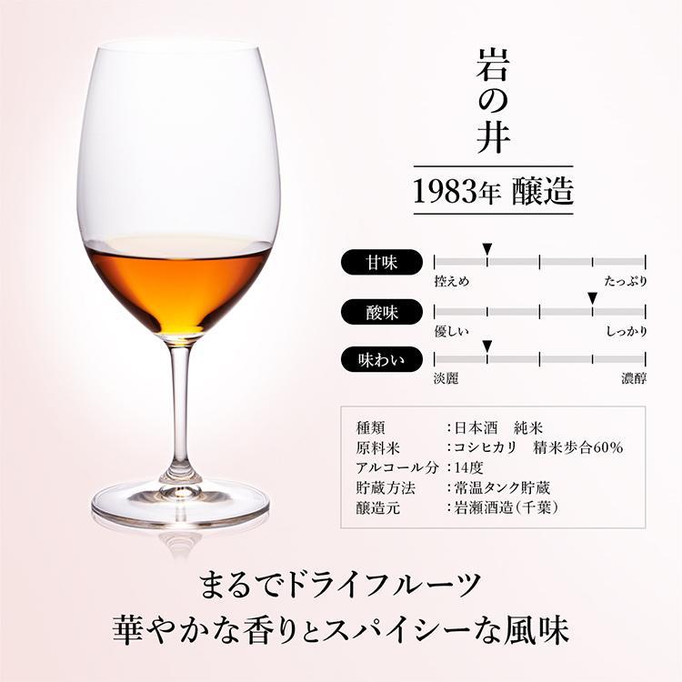 日本酒 高級 ギフト お中元 最長38年 長期熟成 「至高」古昔の美酒 年代別 飲み比べ 5本 セット|poppingstand|09