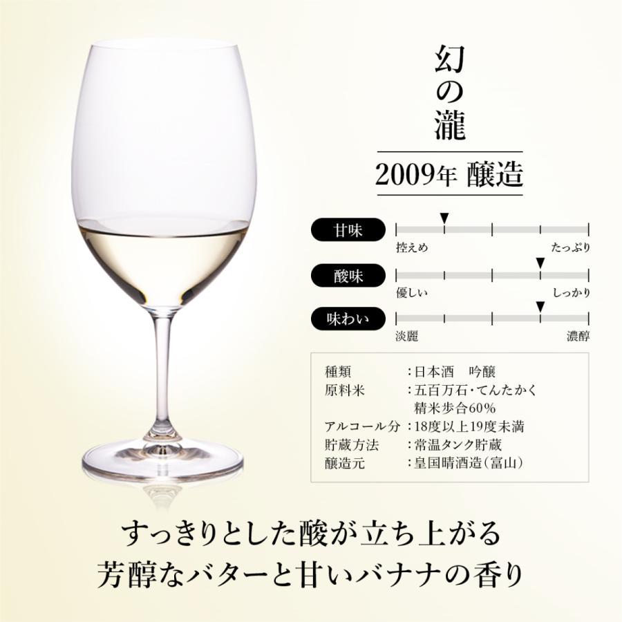 日本酒 最長23年熟成古酒を厳選 高級ギフト『古昔の美酒 天』Vintage1997,2007,2009 3種飲み比べセット 贈答品 誕生日 還暦祝 退職祝【限定生産】|poppingstand|09