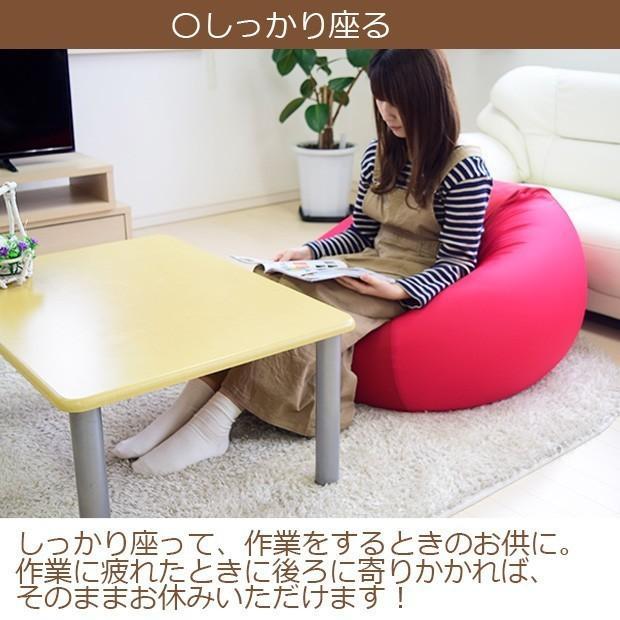 ビーズクッション キューブ ボリュームタイプ エクストラ 9色 マイクロビーズ 日本充填 くせになる ビーズソファ カバーのみ丸洗い可|poruchan0820|09