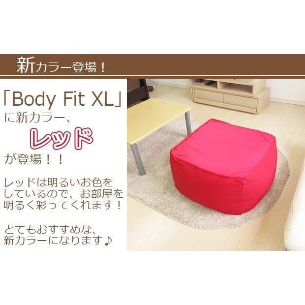 ビーズクッション キューブ ボリュームタイプ エクストラ 9色 マイクロビーズ 日本充填 くせになる ビーズソファ カバーのみ丸洗い可|poruchan0820|13