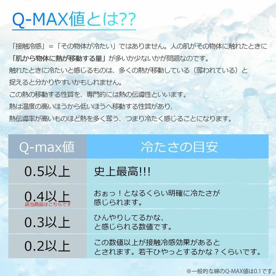 ごろ寝 枕 接触冷感 腰枕 クッション Qmax 0.42 低反発 ストライプ柄 裏メッシュ 通気性抜群 極冷 介護 節電対策 【冷たくてごろ寝・750349】 poruchan0820 03