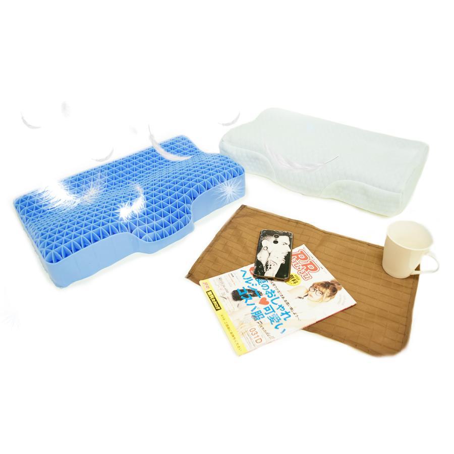 ジェル枕 天使がくれた魔法の枕 洗える枕カバー付き 丸洗い ゲル 新素材 gel 枕 快眠枕 健康枕 安眠 天使の枕 (750394)|poruchan0820|11