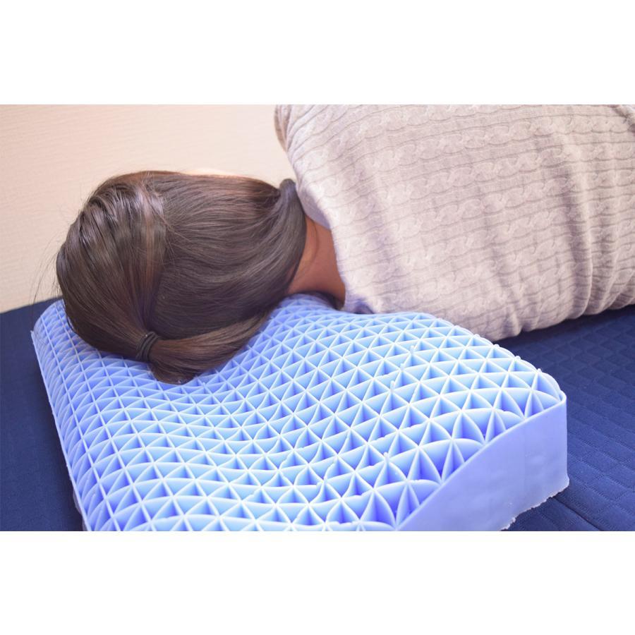 ジェル枕 天使がくれた魔法の枕 洗える枕カバー付き 丸洗い ゲル 新素材 gel 枕 快眠枕 健康枕 安眠 天使の枕 (750394)|poruchan0820|06