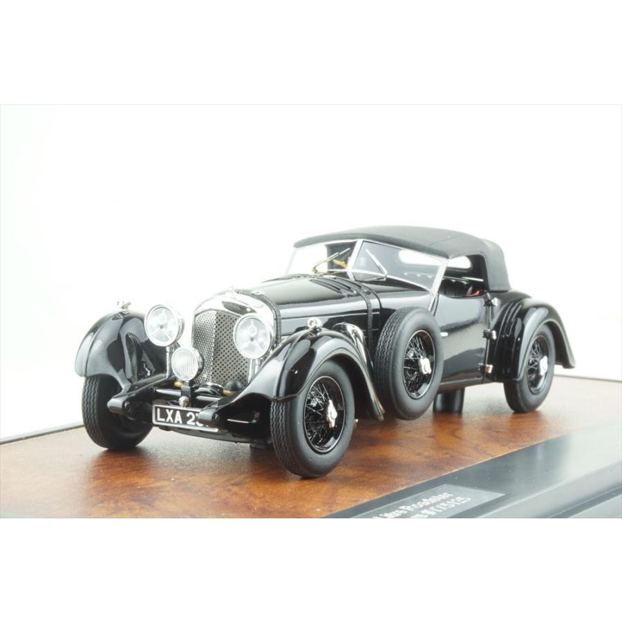 マトリックス 1/43 ベントレー 8L DB ツアラー No.YX5125 1932 ブラック クローズルーフ 完成品ミニカー MX50201-082