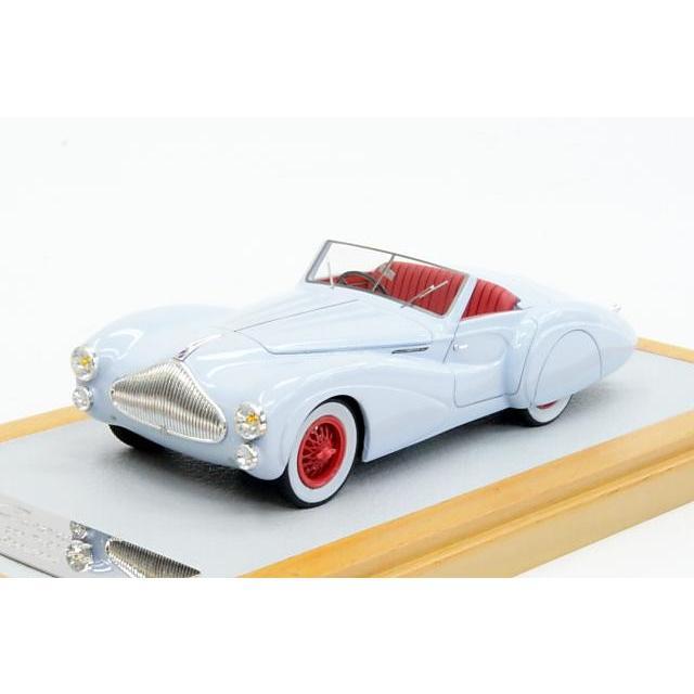 クロームス 1/43 タルボラーゴ T150 ロードスター Saoutchik 1939 ライトブルー 完成品ミニカー Chro56