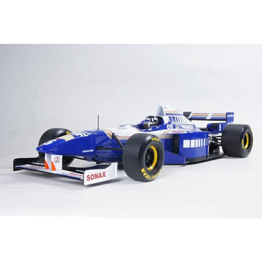ミニチャンプス 1/18 ウイリアムズ ルノー FW 18 No.5 1996 F1 ワールドチャンピオン D.ヒル 完成品ミニカー 186960005