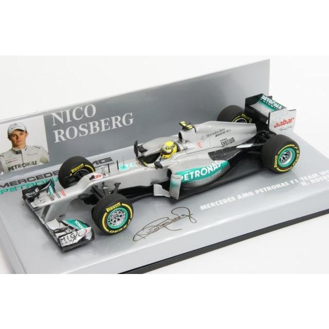 ミニチャンプス 1/43 メルセデス AMG ペトロナス F1チーム W03 N .ロズベルグ 2012 完成品ミニカー 410120008