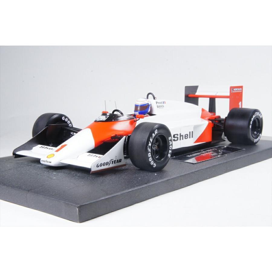 ミニチャンプス 1/18 マクラーレン TAG MP4/3 No.1 1987 F1 A.プロスト 完成品ミニカー 537871801