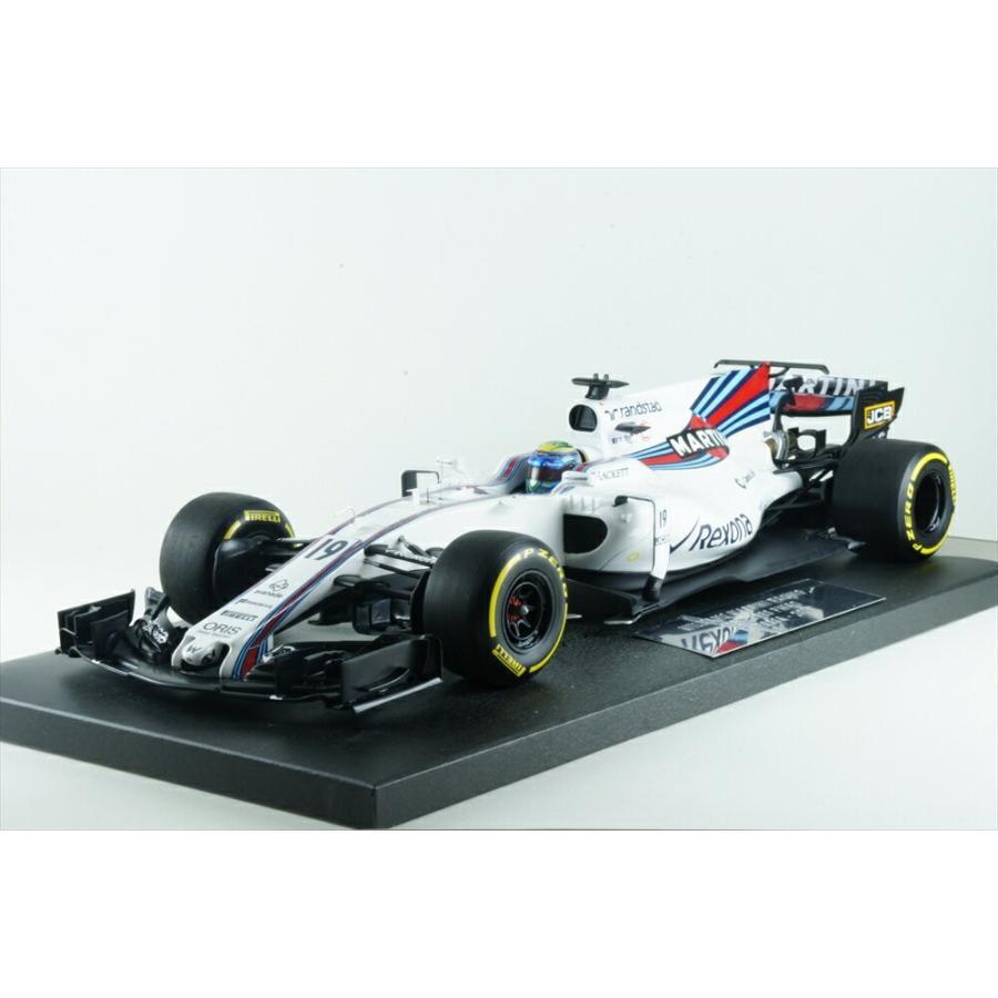ミニチャンプス 1/18 ウィリアムズ マルティニ FW40 No.19 2017 F1 オーストラリアGP F.マッサ 完成品ミニカー 117170019