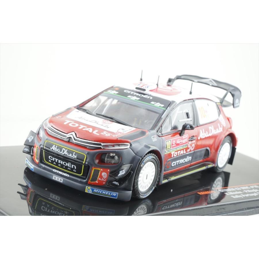 イクソモデル 1/43 シトロエン C3 No.10 2018 WRC ラリー・ポルトガル K.ミーク/Pナグル 完成品ミニカー RAM675