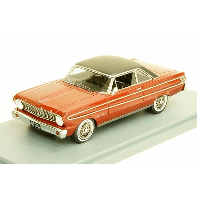 ネオ 1/43 フォード ファルコン フューチュラ スプリント 1964年 メタリックレッド/ブラック 完成品ミニカー NEO45674