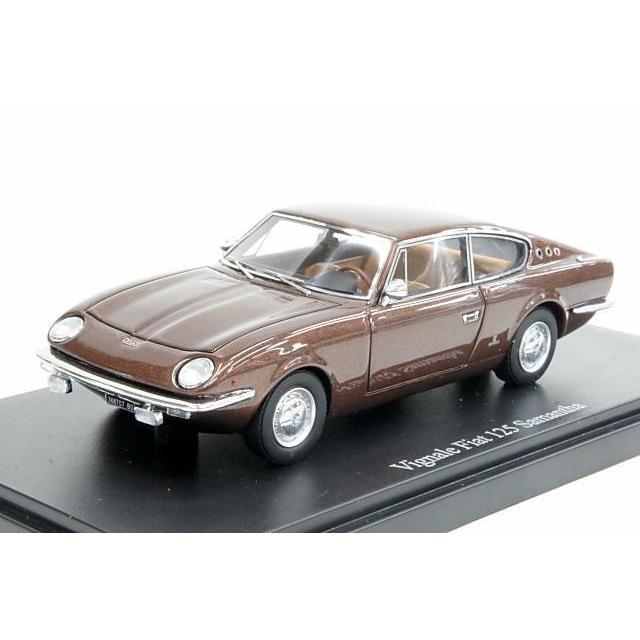 ブラウンメタリック 1967 サマンサ 125 フィアット ヴィニャーレ