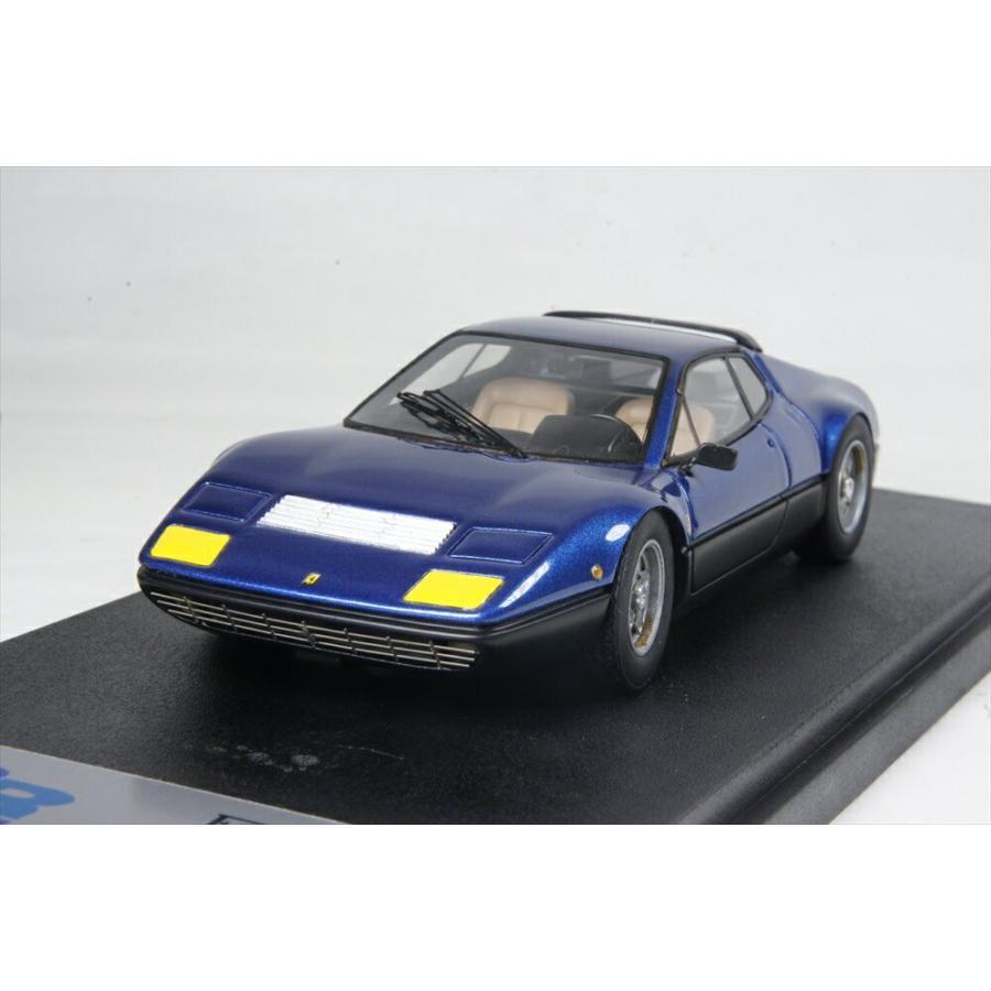 BBR 1/43 フェラーリ 365GT4/BB 1973 Lブルー/ブラック 完成品ミニカー BBR134C