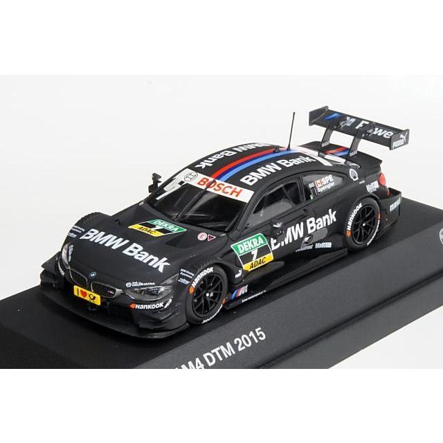 ディーラー別注 1/43 BMW M4 DTM 2015 No.7 B.スペングラー 完成品ミニカー 80422405595