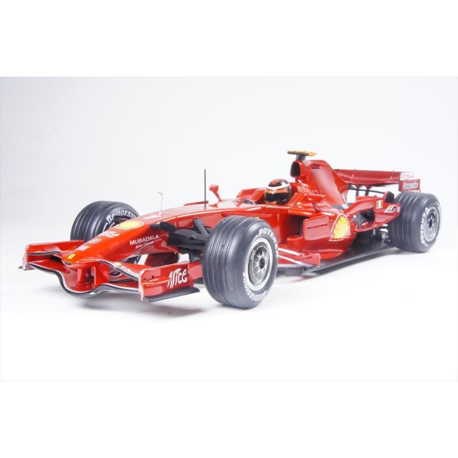 マテル 1/18 フェラーリ F1 2008 F1 K.ライコネン 完成品ミニカー MT8781L
