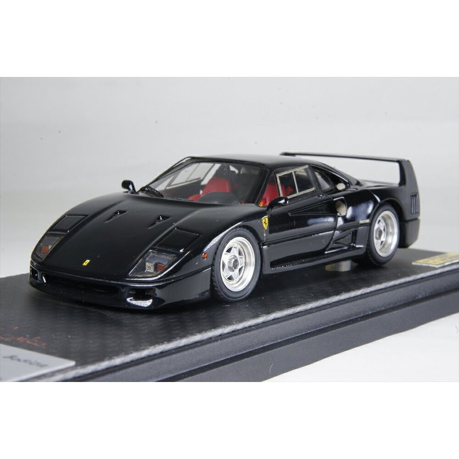 ポストホビー/MR1/43 フェラーリ F40 ストリート ブラック 完成品ミニカー MRBOS12