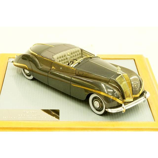 ミニカー イラリオ Ilario (IL43073) 1/43 ロールス・ロイス ファントムIII カブリオレ 1939年 Labourdette Vutotal 1947年シャーシ 3DL120 2トーンマルーンM