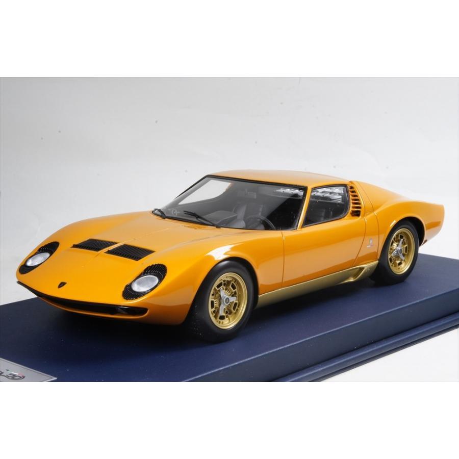 ミニカー ルックスマート Looksmart (LSMH01) 1/18 ランボルギーニ ミウラ P400 ジェノバモーターショー 1966