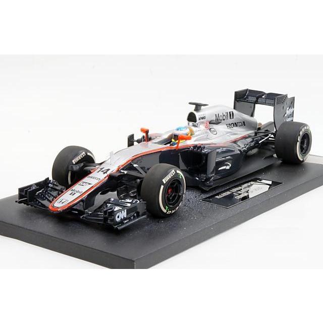 ミニカー ミニチャンプス MINICHAMPS (537151814) 1/18 マクラーレン ホンダ MP4-30 2015年 中国GP No.14 F.Alonso