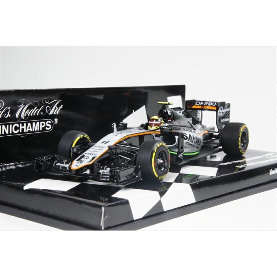 ミニチャンプス 1/43 フォースインディア VJM09 No.11 2016 F1 ヨーロッパGP 3位 S.ペレス 完成品ミニカー 417160211