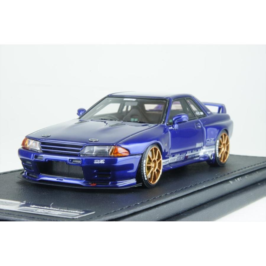 イグニッションモデル 1/43 トップシークレット GT-R (VR32) ブルー メタリック 完成品ミニカー IG1528