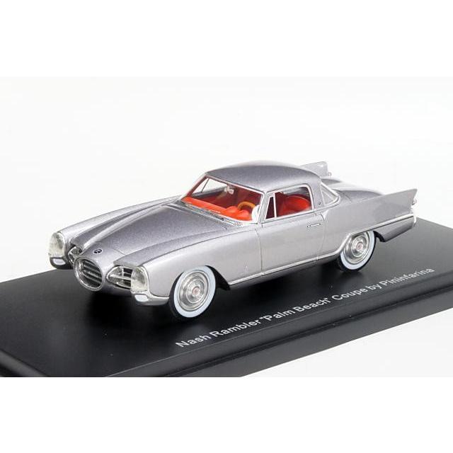 ミニカー ボスモデルズ Bos Models (BOS43420) 1/43 ナッシュ ランブラー パームビーチ ピニンファリーナ 1956年 メタリックグレー