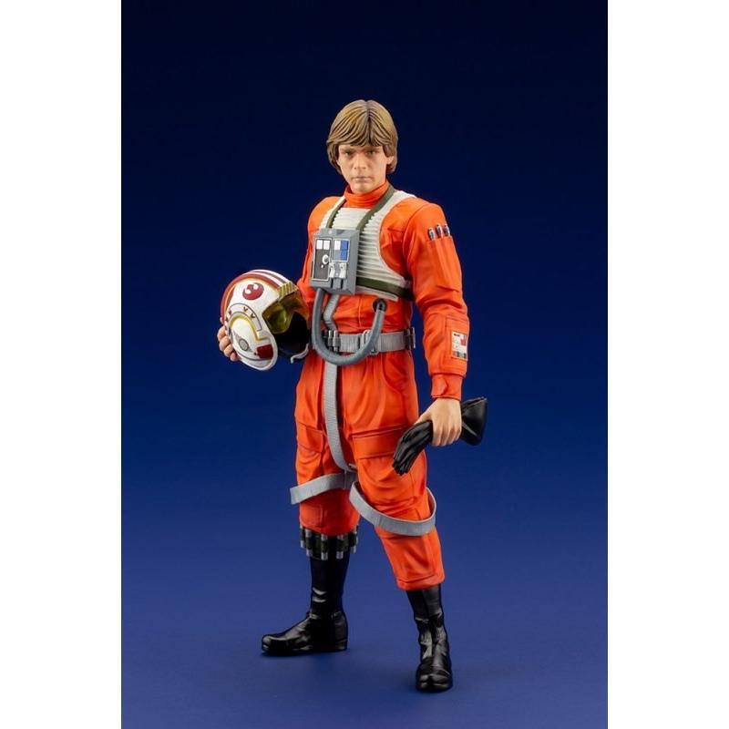 コトブキヤ ARTFX+ 1/10 ルーク・スカイウォーカー X-WINGパイロット 「STAR WARS 新たなる希望」より フィギュア SW163 3月予約