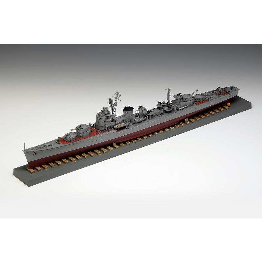 ウェーブ 1/350 日本海軍駆逐艦 冬月 1945 スケールプラモデル BB102
