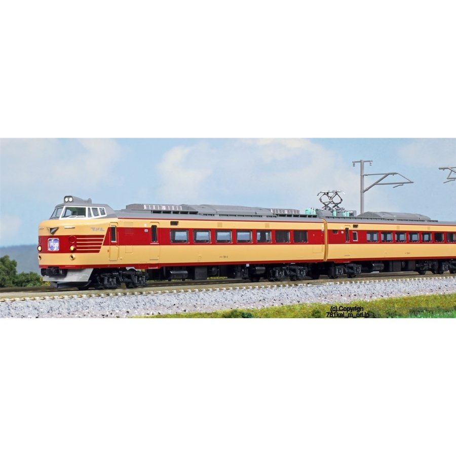 鉄道模型 KATO カトー (10-1327) (N)781系 6両セット 【鉄道模型】【Nゲージ】