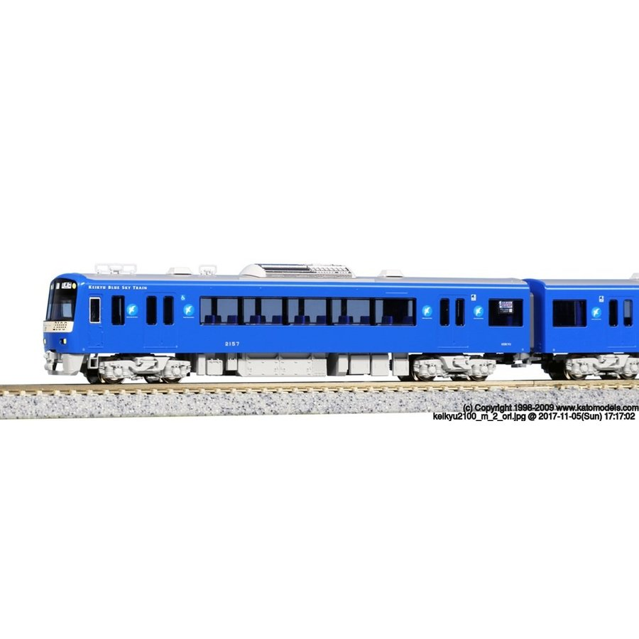 KATO Nゲージ 京急2100系 京急ブルースカイトレイン 8両セット 鉄道模型 10-1310