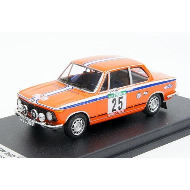 ミニカー トロフュー Trofeu (RRal20) 1/43 BMW 2002 1975年 ポルトガルラリー No.25 B.Fernandez/A.Doural