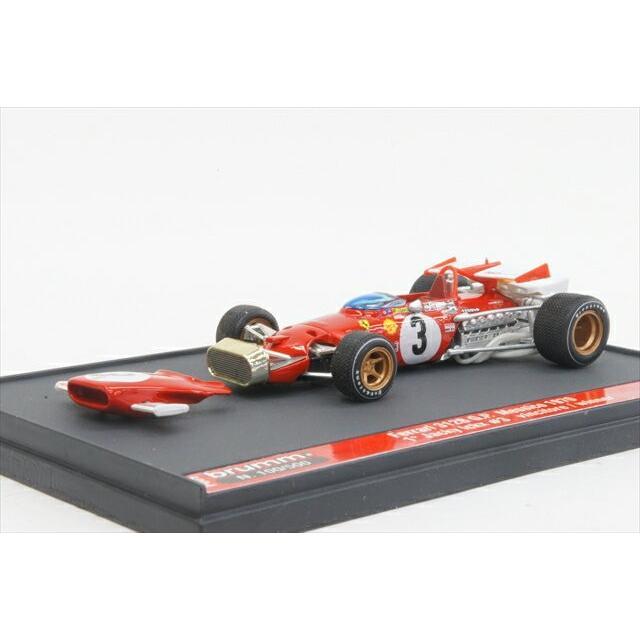 ミニカー ブルム (P009) 1/43 フェラーリ 312B 1970年 メキシコGP 優勝 #3 J.Ickx
